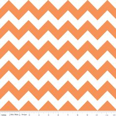 Riley Blake Designs House Designer - Chevron - Chevron in Orange
