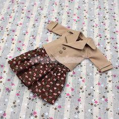 Robe sans manches florale de mode 2 + Set + Manteau pour 12 '' Blythe Dolls in Jouets et jeux, Poupées, vêtements, access., Poupées mannequins, mini, Barbie: poupées, accessoires, Vêtements, accessoires | eBay