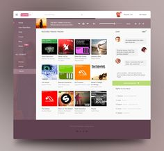 Electro Music reDesign Web by Khester | Design & Creative 