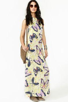 #Butterfly Effect Maxi Dress  Maxi Dresses #2dayslook #MaxiDresses #sunayildirim  www.2dayslook.com