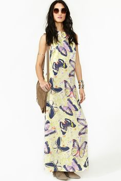 Butterfly Effect Maxi Dress