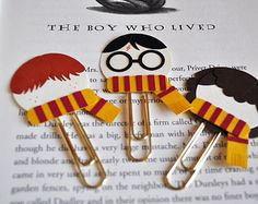 harry potter bookmark on Etsy, a global handmade and vintage ...