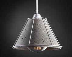 Mati - Concret Lamp