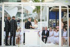 Beautiful ceremony options at Beach Palace