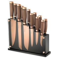 Hampton Forge Forte 13-Piece Cutlery Block Set