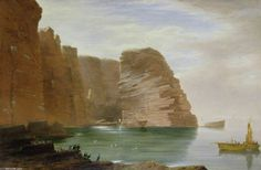 L île de Handa, côte ouest de Sutherland de James William Giles (1801-1870, United Kingdom)