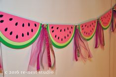 Watermelon sparkle party banner one in a melon birthday/birthday party/first birthday/party decoration/custom party banner/pink and green Baby Shower Watermelon, Watermelon Birthday Parties, Fruit Party, Summer Birthday, 1st Birthday Girls, Watermelon Party Decorations, Birthday Ideas, First Birthday Party Decorations, First Birthday Parties