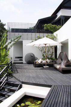 Outdoor living (Villa Yin, Phuket)