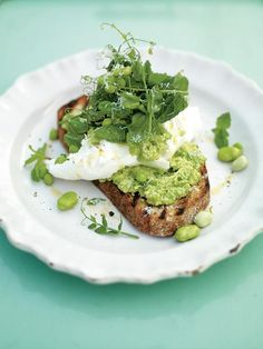 incredible smashed peas & broad beans on toast | Jamie Oliver | Food | Jamie Oliver (UK)