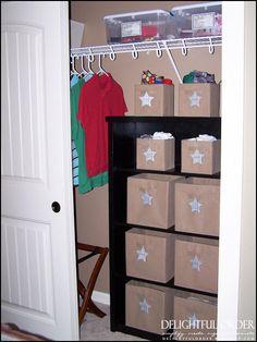 Organizing Childrens Clothing