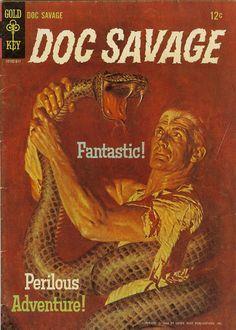 COMIC doc savage 1 #comic #cover #art