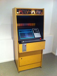 Probably unknown to any US Players out there: the only Arcade Cabinet built in the former DDR. The Poly Play
