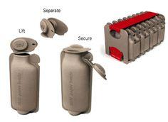Papieren waterfles. Is dit de oplossing voor de ecologische problemen van plastic flessen?
