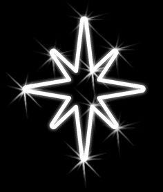 Vianočná hviezdička - 500mm x 450mm - závesná - OHV09-L