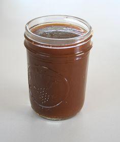 brown sugar caramel sauce  delicious on homemade chocolate cake
