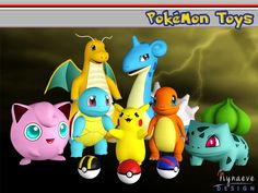 Pokemon Toys honors the most celebrated first generation Pokemon. Gotta Catch Em All!  Found in TSR Category 'Sims 3 Decorative Sets'