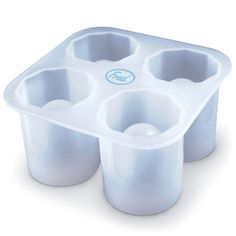 Fred & Friends Cool Shooters Ice Shot Molds, Multicolor