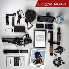 Smartphone video gear for mobile journalism, filmmaking and mobile reporting.