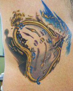 Dali Clocks Tattoo