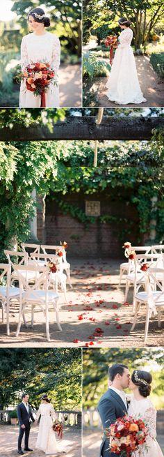 European-Inspired Garden Wedding Shoot