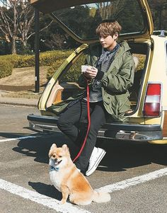 How many dogs does V have? Lol