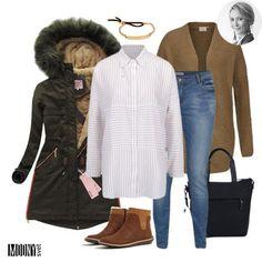 Milujem jeseň a preto si veľmi prajem, aby bolo ešte veľa pekných jesenných slnečných dní, ako je ten dnešný🙏🍂☀Avšak pomaly treba chystať šatník aj na zimu a preto som dnes nemohla prehliadnuť túto parádnu zateplenú kaki parku❤👍Rovnako tak ma dnes dostal aj ten hnedý pletený sveter, ktorý je ideálny aj na teraz, na zimu aViac