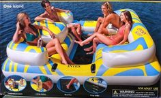 LOLZ- (but srsly.)  Intex Oasis Island Float Lounge Station: Inflatable Relaxation Pool Raft