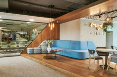 Camira Landscape Synergy in Theta's Bucharest office