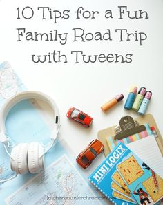 10 Tips for a Fun Family Road Trip with Tweens - travelling with tweens is different then travelling with toddlers...there are a whole new set of challenges and opportunities. Check out our 10 simple ways to have an awesome road trip with tweens - travel with kids can be awesome for everyone!