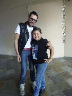 Lindo nuestro @enricobompani siempre especial @CristianCastro #Tijuana