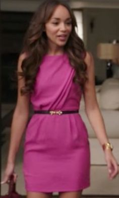 Ashley Davenport (REVENGE on ABC)   Minor details make this dress a stunner, what do you notice?