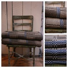 Loopy Mango: Monk's Belt Handwoven Throws and Runners