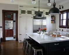 Kitchen Desk Stool Design, Pictures, Remodel, Decor and Ideas - page 5