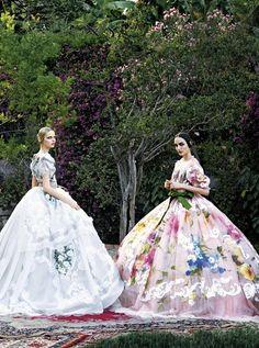 Elza Luijendijk & Zuzanna Bijoch for Dolce & Gabbana
