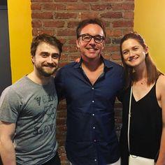 Daniel Radcliffe, Bonnie Wright, Chris Columbus Reunited at Daniel's Off-Broadway play, Privacy