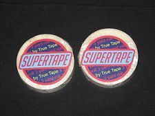 """Supertape Two Roll 1/2""""x 3 YDS Non Glare Tape Double-Sided~Hair Piece,Lace Wigs."""