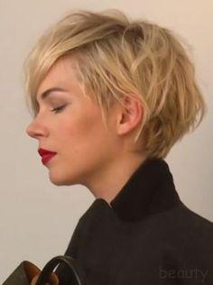 Court-coiffures avec des pointes de plus ! - Coupe Courte Femme