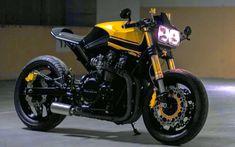 Garage14_CBXF_001 Gs 500 Cafe Racer, Cafe Racer Honda, Custom Cafe Racer, Cafe Racer Bikes, Cafe Racer Motorcycle, Cafe Racers, Ducati Monster 1000, Xjr 1300, Gs500
