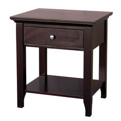 Ferndale Espresso End Table - Overstock™ Shopping - Great Deals on DonnieAnn Coffee, Sofa & End Tables