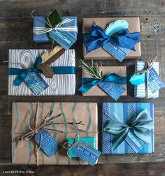 Printable Gift Tags for the Men in Your Life