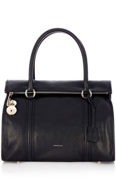 New In | Multi Coloured leather maxi box bag | KarenMillen Stores Limited