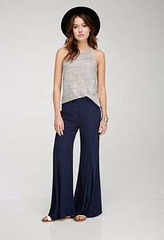 I LOVE WIDE PANTS, ALWAYS HAVE, ALWAYS WILL (caps to prove my love) - Wide-Leg Kick Pleat Pants   FOREVER21 - 2000136242