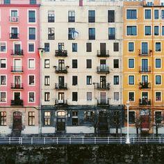 Fachadas de Bilbao |  Basque Country www.bilbaomola.com