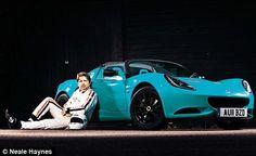 Blue Elise Club Racer