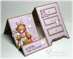 Stempeleinmaleins: Kommoden-Karte/Dresser Card
