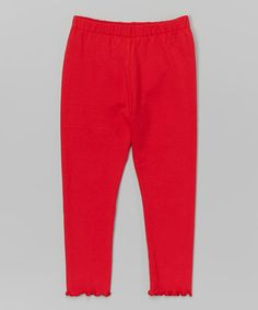 This Red Leggings - Toddler & Girls is perfect! #zulilyfinds