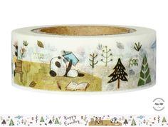 Masking Tape - Washi Tape HAPPY EVERDAY - ein Designerstück von Fitzi-Floet bei DaWanda