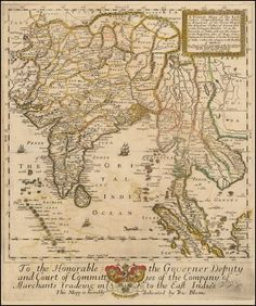 1667 - East Indies including the empire of the Grand Mogul - Barry Lawrence Ruderman Antique Maps Inc.