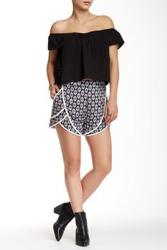 Love this boho look!  Cute Madison Square + Wilde Heart Taking Over Shorts