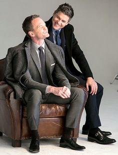 Neil Patrick Harris and David Burtka - London Fog